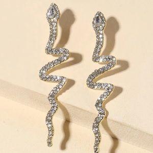 🐍 Snake Rhinestone Earrings 🐍